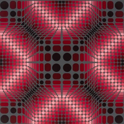 Victor Vasarely, 'Boulouss', 1984