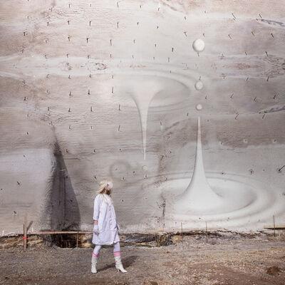 Catrine Val, 'Der Zeit-Raum als der Ab-Grund', 2017