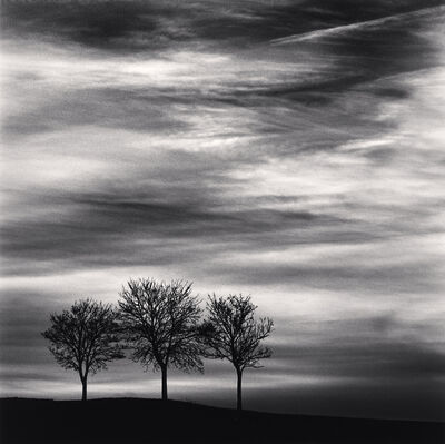 Michael Kenna, 'Three Trees at Dusk - Fain les Moutiers, Bourgogne, France. ', 2013