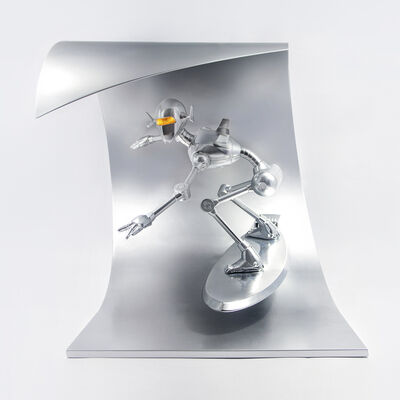 Hajime Sorayama, 'Classic Robot Surf', 2018