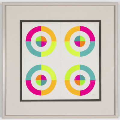 Judy Chicago, 'Optical Shapes #6', 1969