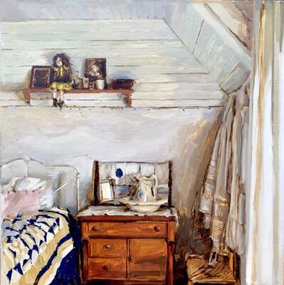 Mary Sauer, 'Blue Bedroom', 2019
