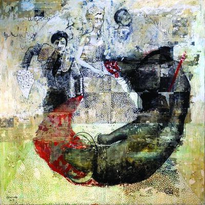 SHADI ABOUSADA, 'Circle of Life', 2016
