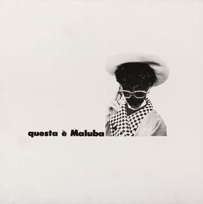Emilio Isgrò, 'Maluba', 1966