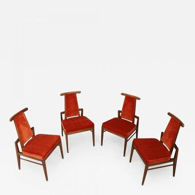 James Mont, 'Set of Midcentury Asian Armchairs Attributed to James Mont, 1950s', 1950