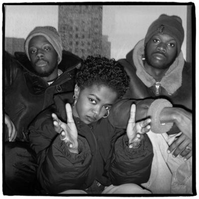 David Corio, 'The Fugees, Sony Records, NYC', ca. 1994