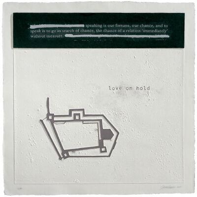 Julião Sarmento, 'Love on Hold', 2007