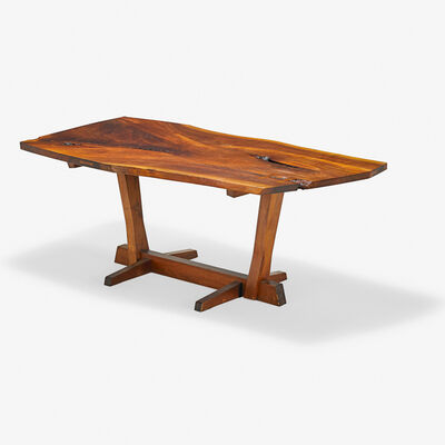 George Nakashima, 'Conoid dining table, New Hope, PA', 1965