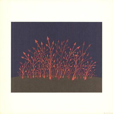 Jean Michel Folon, 'Arrows', 1970