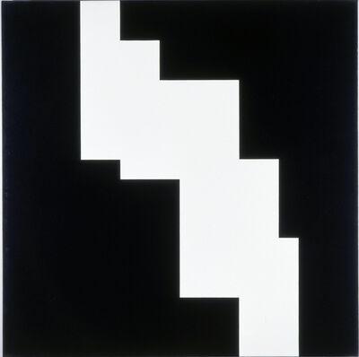 Aurelie Nemours, 'structure du silence', 1984