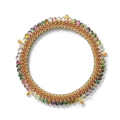 Claire Kahn, 'Multi Colored Tourmaline, Gold and Diamonds', 2018