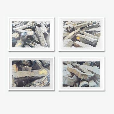 Joseph Beuys, '7000 Eichen', 1960-1970