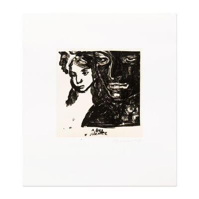 Marlene Dumas, 'A Long Silence', 1989