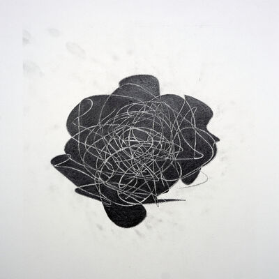 Phoebe Boswell, 'Notes on a Lockdown: A Solid Scribble, A Void ', 2021