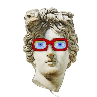 Electroboutique (Aristarkh Chernyshev/Alexei Shulgin), 'Apollo with glasses', 2015