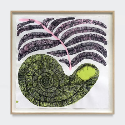 Emma Kohlmann, 'Green Fossilized Shell', 2021