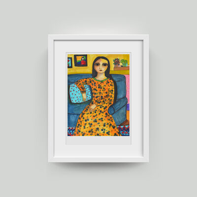 Haya Kaabneh, 'My Comfortable Space #7', 2018