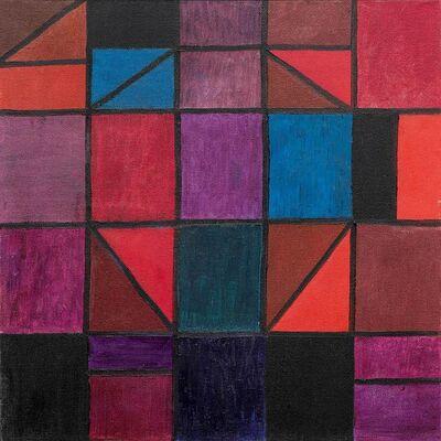Johannes Itten, 'Diagonalen', 1962
