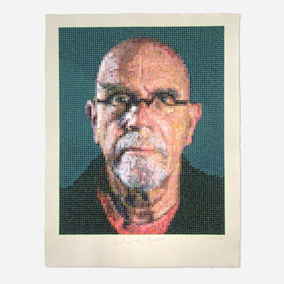 Chuck Close, 'Self Portrait', 2016