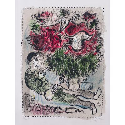 Marc Chagall, 'Le bouquet du peintre', 1967