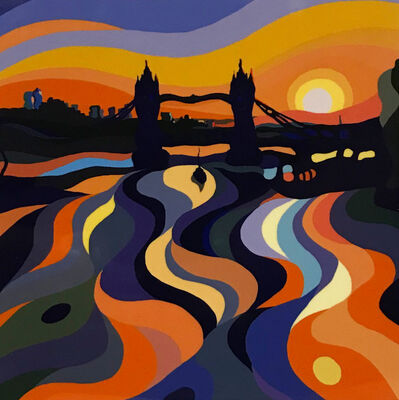 Sarah Fosse, 'Tower Bridge Sunset - Mini', 2019