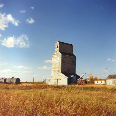 Dianne Bos, 'Grain Elevator, Pincher Creek', 2012