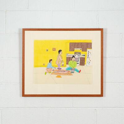 Annie Pootoogook, 'In the Kitchen', 2000