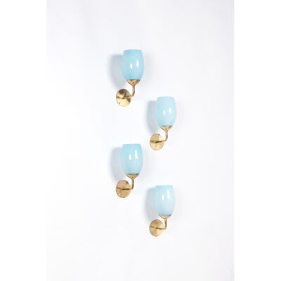 Paavo Tynell, 'Model 10302,  Set of four wall lamps', 1940s
