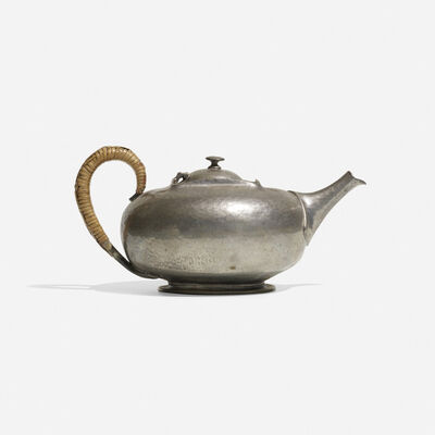 W.H. Haseler's for Liberty & Co., 'Tudric Teapot', c. 1900