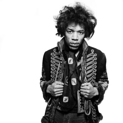 Gered Mankowitz, 'Jimi Classic 2, Mason's Yard, London', 1967