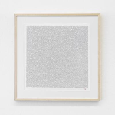 Tatsuo Miyajima, 'Innumerable Counts Square - handwritten font', 2017