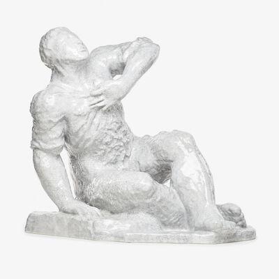 "Sandro Chia, 'Large figural sculpture ""Sitzender Mann (Sitting Man),"" edition of 40, Germany', 1987"