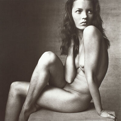 Irving Penn, 'Kate Moss (Hand on Neck), New York, April 25', 1996