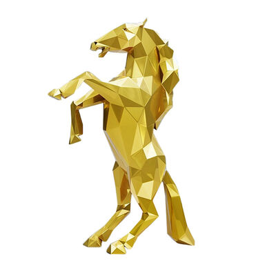 Richard Orlinski, 'Gold Horse', 2020