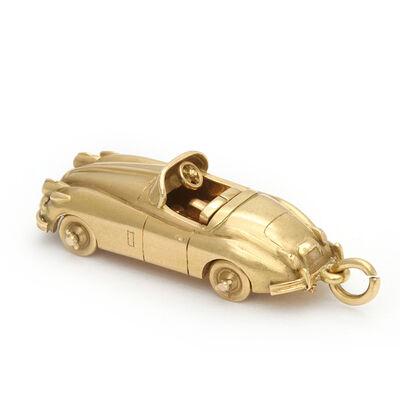 Cartier, 'Vintage Cartier Gold Jaguar Charm Pendant', ca. 1970