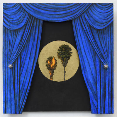 Robert Ginder, 'Blue Curtain', 2017