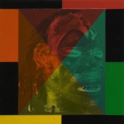 Rico Gatson, 'Mask Painting #1', 2018