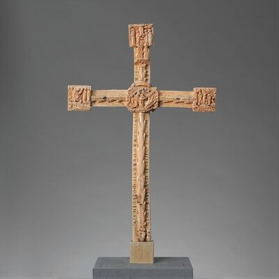 Unknown British, 'The Cloisters Cross', ca. 1150–1160