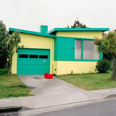 Jeff Brouws, 'Tango Blue, Daly City, California', 1991