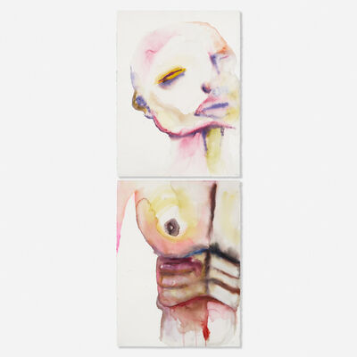 Marilyn Manson, 'Vicodin (diptych)'