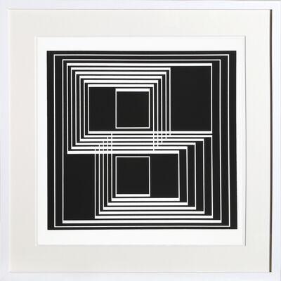 Josef Albers, 'Portfolio 1, Folder 33, Image 1 from Formulation: Articulation', 1972