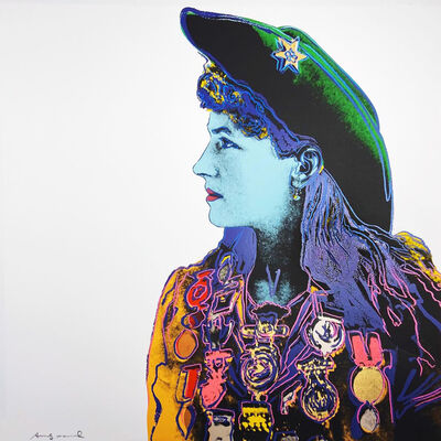 Andy Warhol, 'Cowboys and Indians: Annie Oakley II.378', 1986