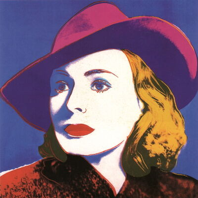 Andy Warhol, 'Ingrid with Hat (sm)', 2000