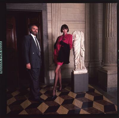Harry Benson, 'Versace, Milan', 1987