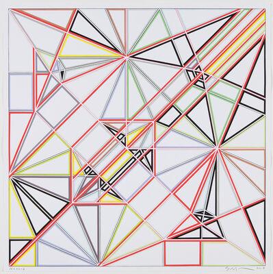 Sarah Morris, 'Pegasus (Origami)', 2007