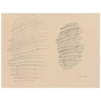 Michael Snow, 'Wallking Woman', 1963