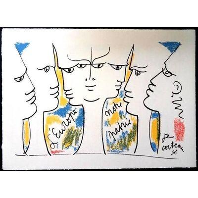 """Jean Cocteau, 'Original Lithograph """"Vision de Jean Monnet"""" by Jean Cocteau', 1961"""