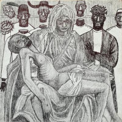 Eria Sane Nsubuga, 'Mukaabya's la pieta 2', 2016