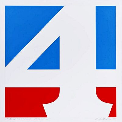 Robert Indiana, 'The American Four (Sheehan, 59)', 1970