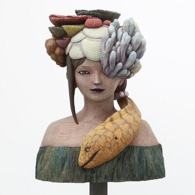 Motoki Hitomi, 'The Play of Sea God', 2019